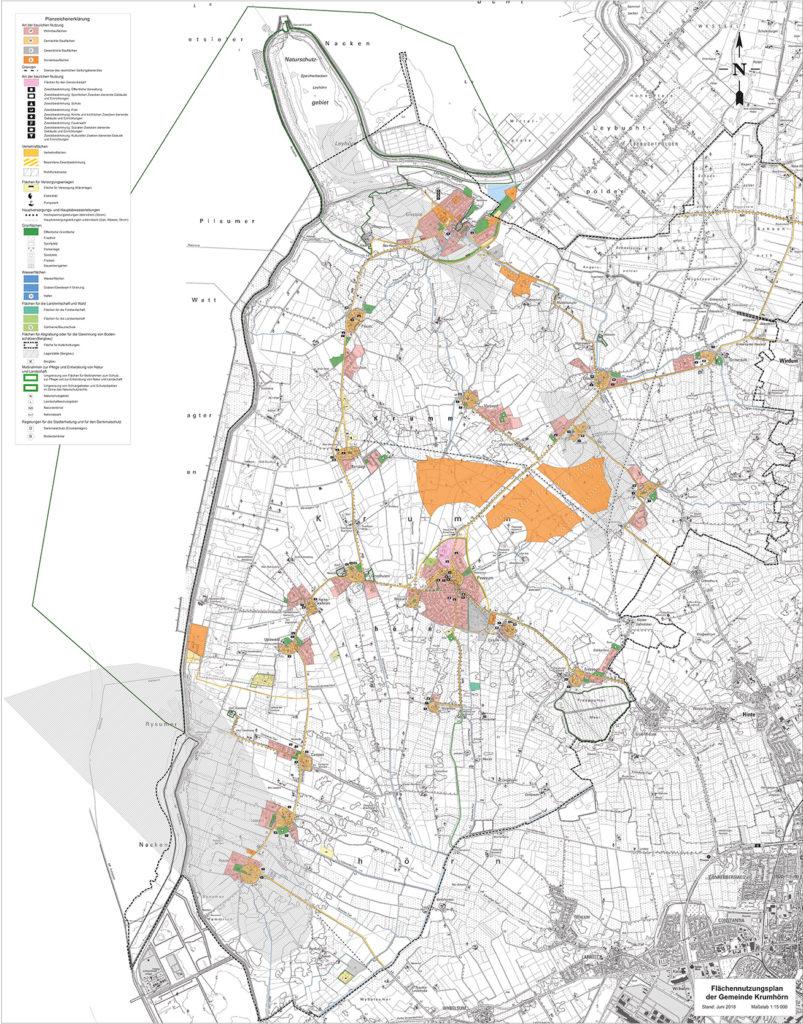 Flächennutzungsplan Krummhörn Gesamt