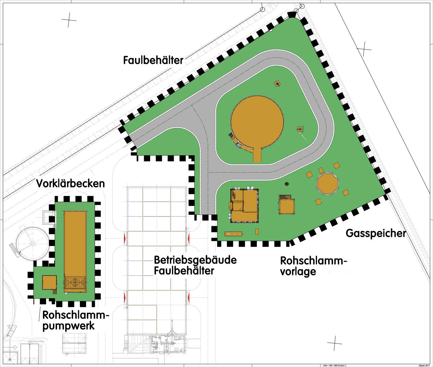 Zentralklärwerk Krummhörn Errichtung einer Schlammfaulung inkl. einer Gasverwertung
